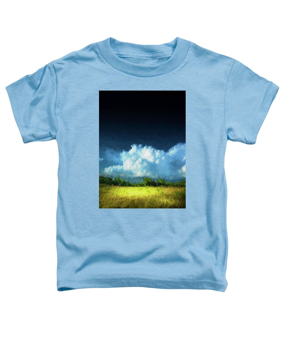 Apollo Beach Toddler T-Shirt featuring the photograph The Storm by Marvin Spates