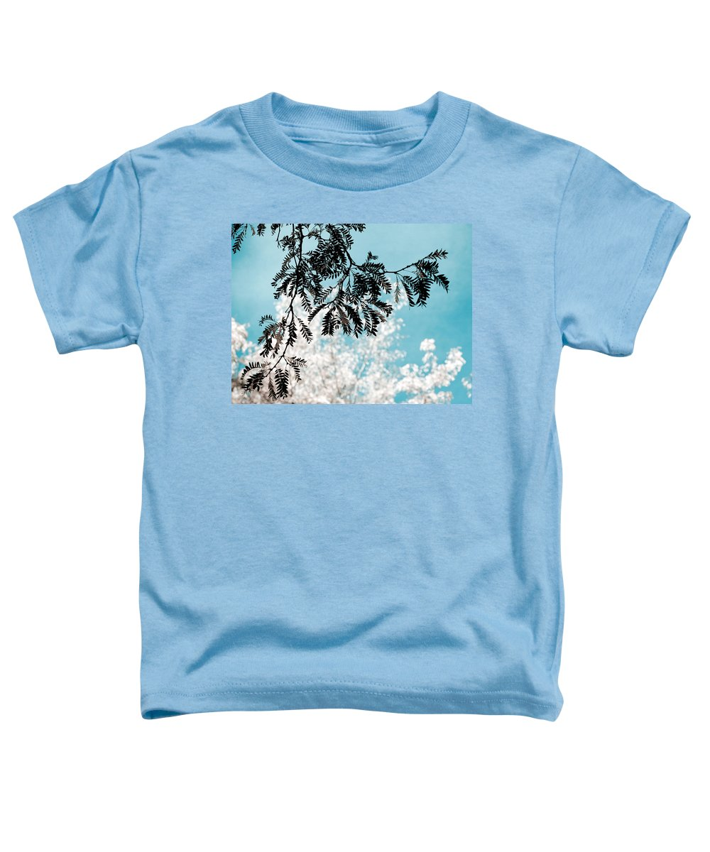 Tree Toddler T-Shirt featuring the photograph Abstract Locust by Marilyn Hunt