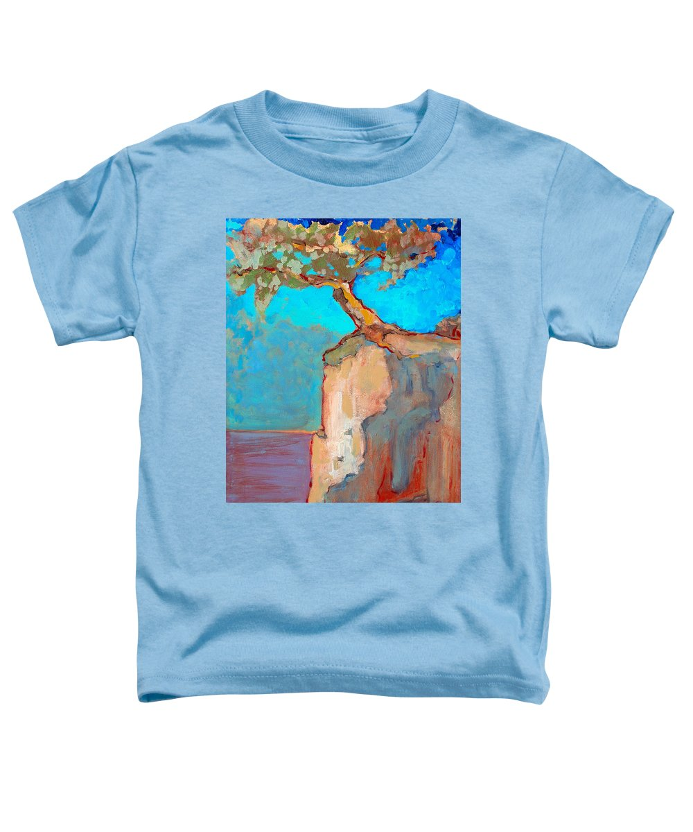 Tree Toddler T-Shirt featuring the painting Albero by Kurt Hausmann
