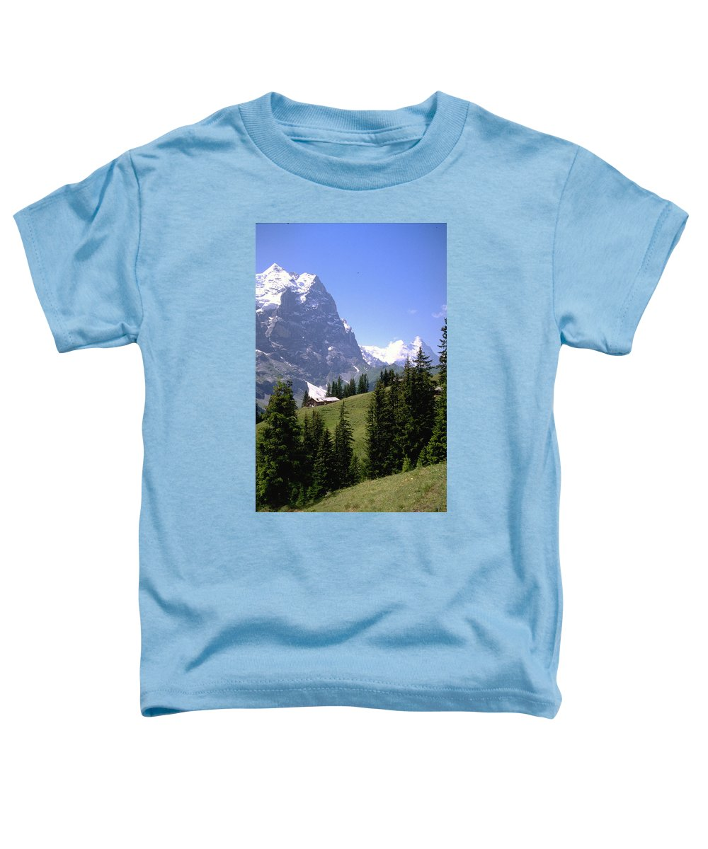 Alps Toddler T-Shirt featuring the photograph Alps by Flavia Westerwelle