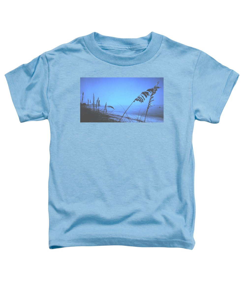 Toddler T-Shirt featuring the photograph Bahama Blue by Ian MacDonald