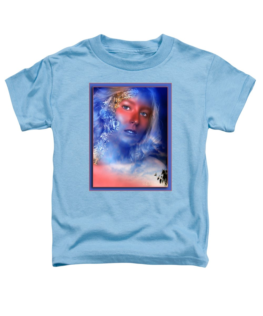 Clay Toddler T-Shirt featuring the photograph Beauty In The Clouds by Clayton Bruster