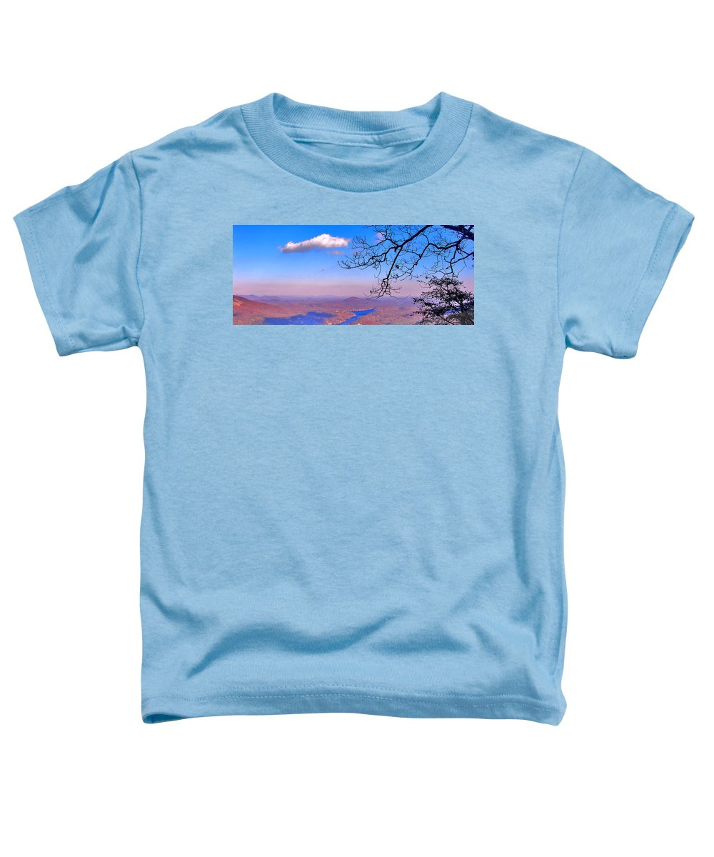 Landscape Toddler T-Shirt featuring the photograph Detail From Reaching For A Cloud by Steve Karol
