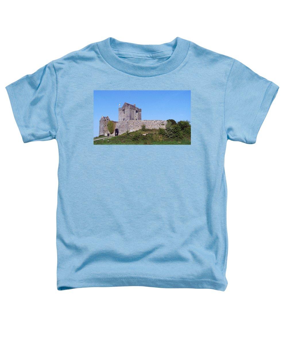 Irish Toddler T-Shirt featuring the photograph Dunguaire Castle Kinvara Ireland by Teresa Mucha