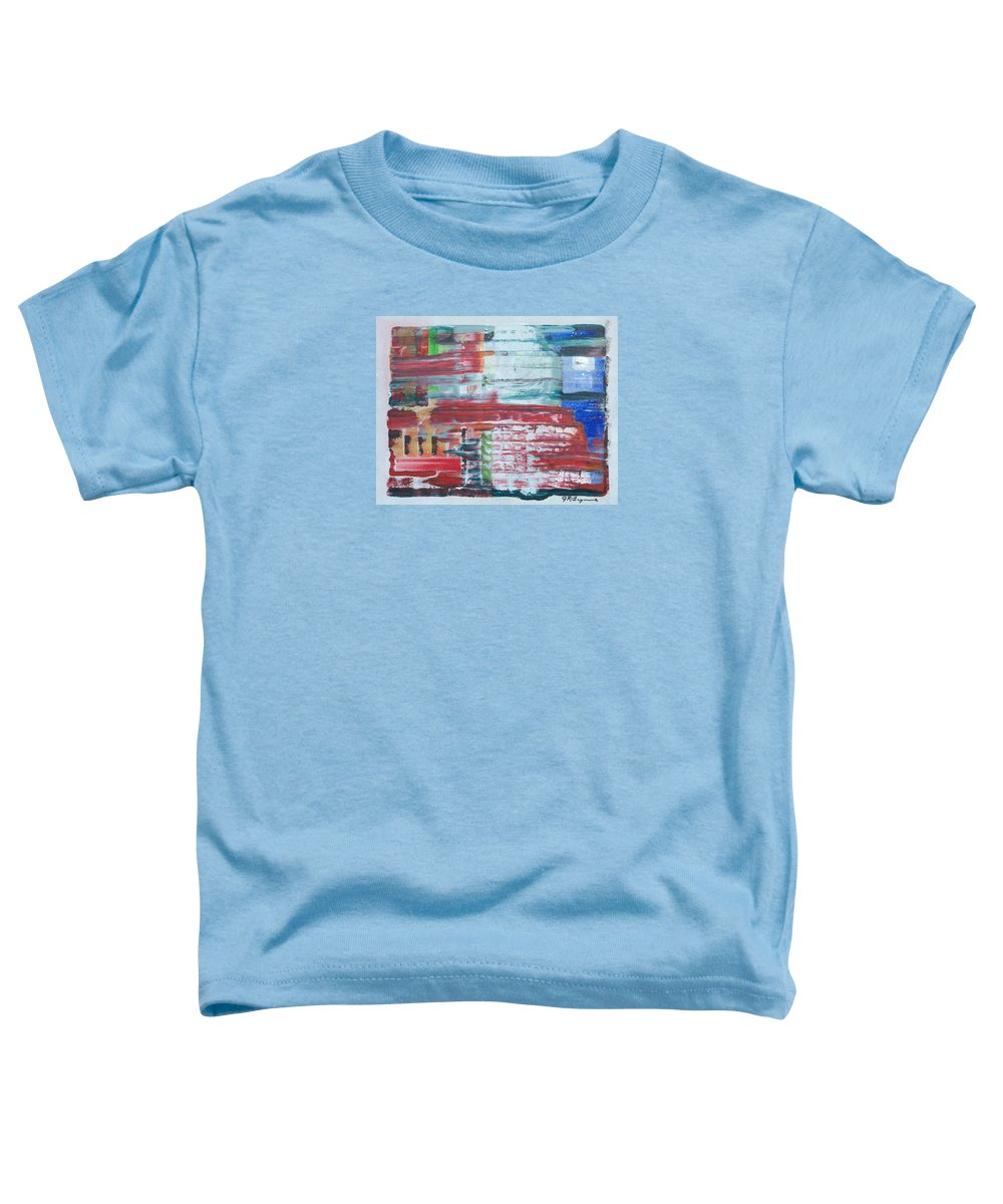 Impressionism Toddler T-Shirt featuring the painting Glass Blocks by J R Seymour