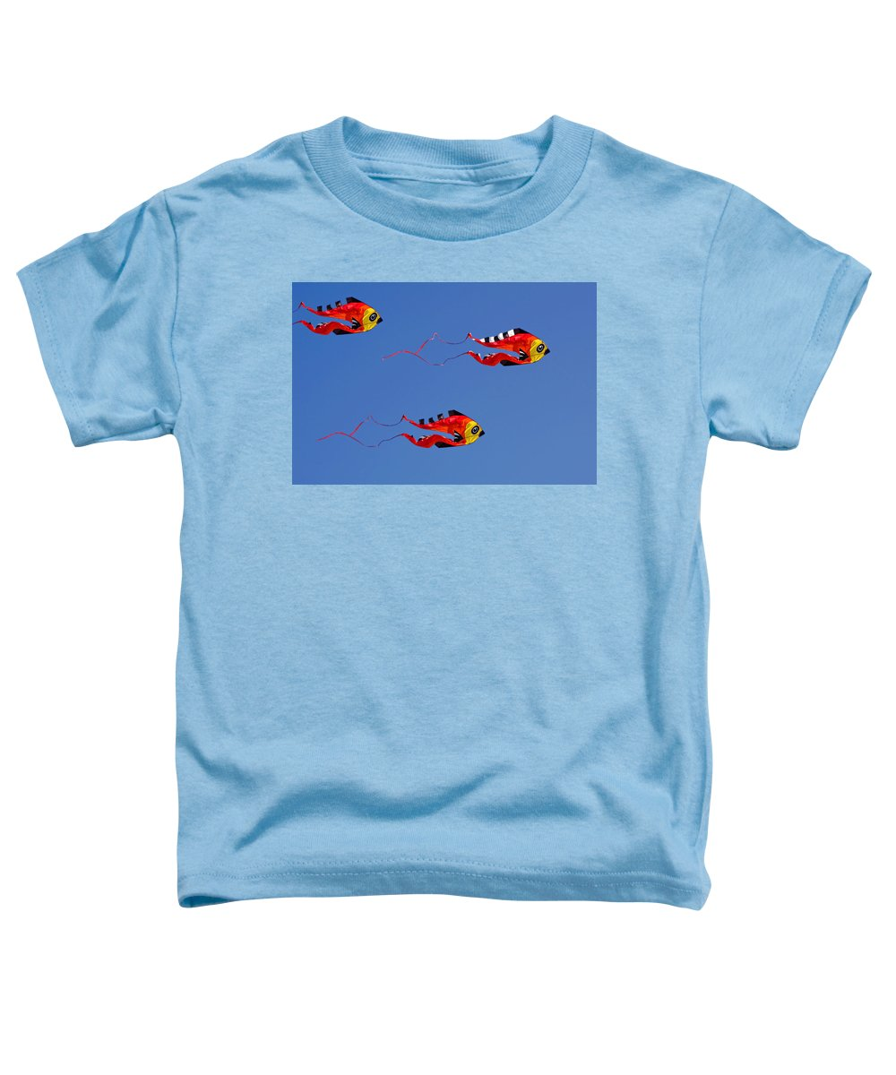 Clay Toddler T-Shirt featuring the photograph Go Fly A Kite by Clayton Bruster