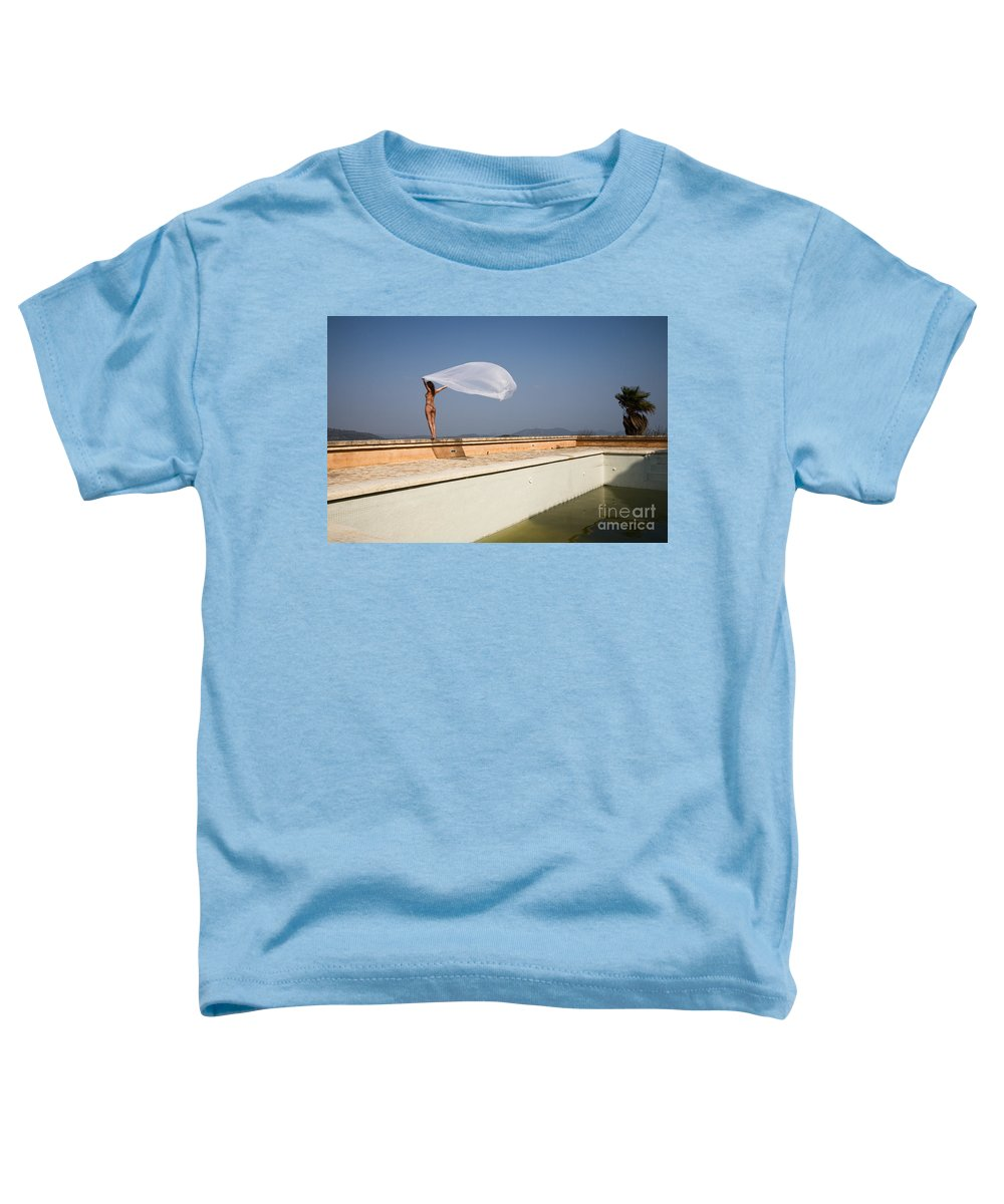 Sensual Toddler T-Shirt featuring the photograph I Will Fly To You by Olivier De Rycke