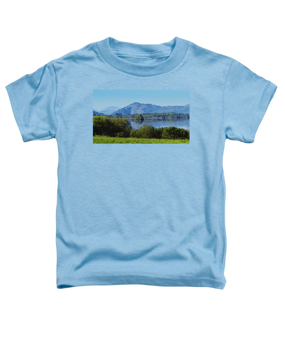 Irish Toddler T-Shirt featuring the painting Loch Leanne Painting Killarney Ireland by Teresa Mucha