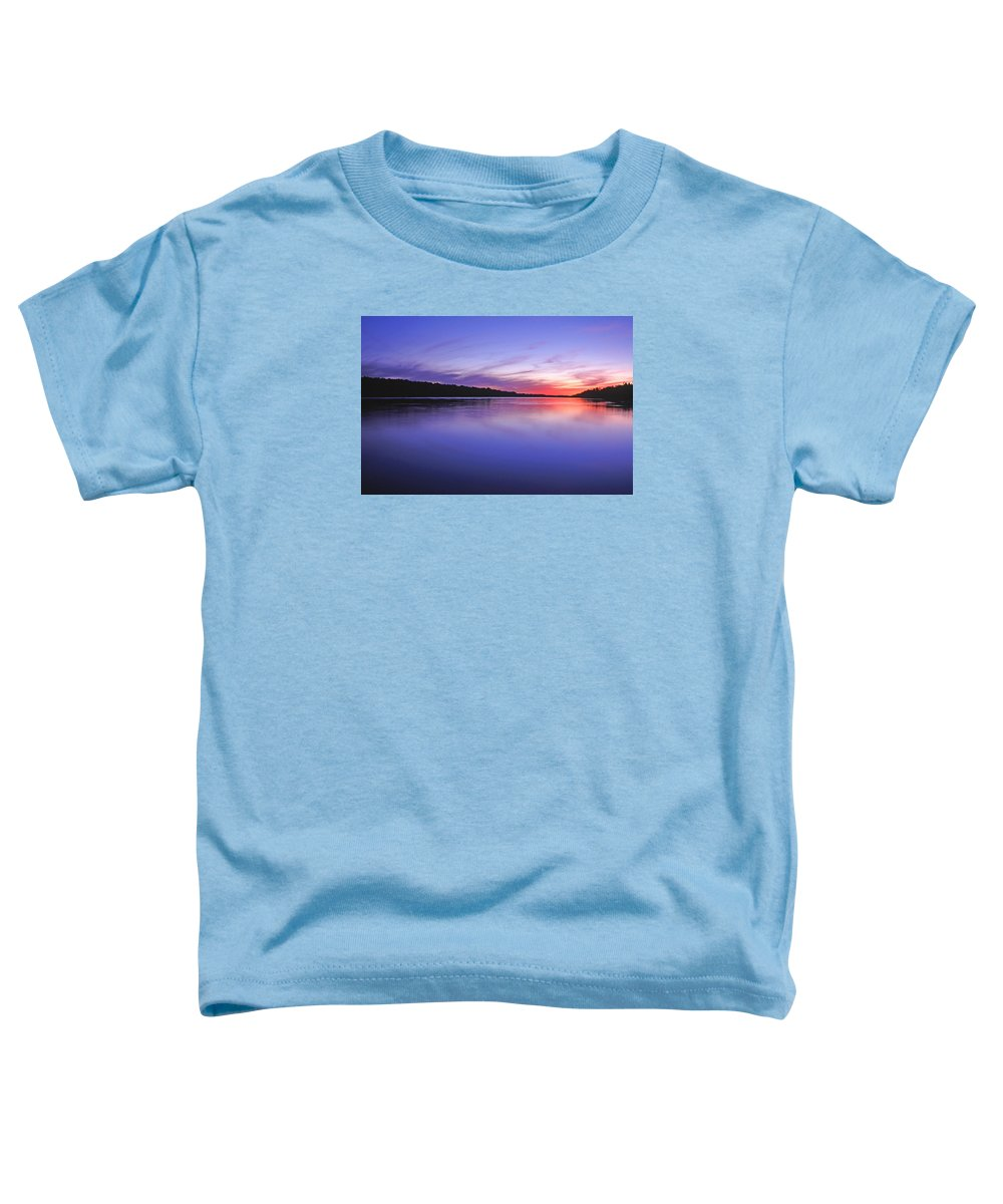 Landscape Toddler T-Shirt featuring the photograph Manidooziibi by Bill Morgenstern