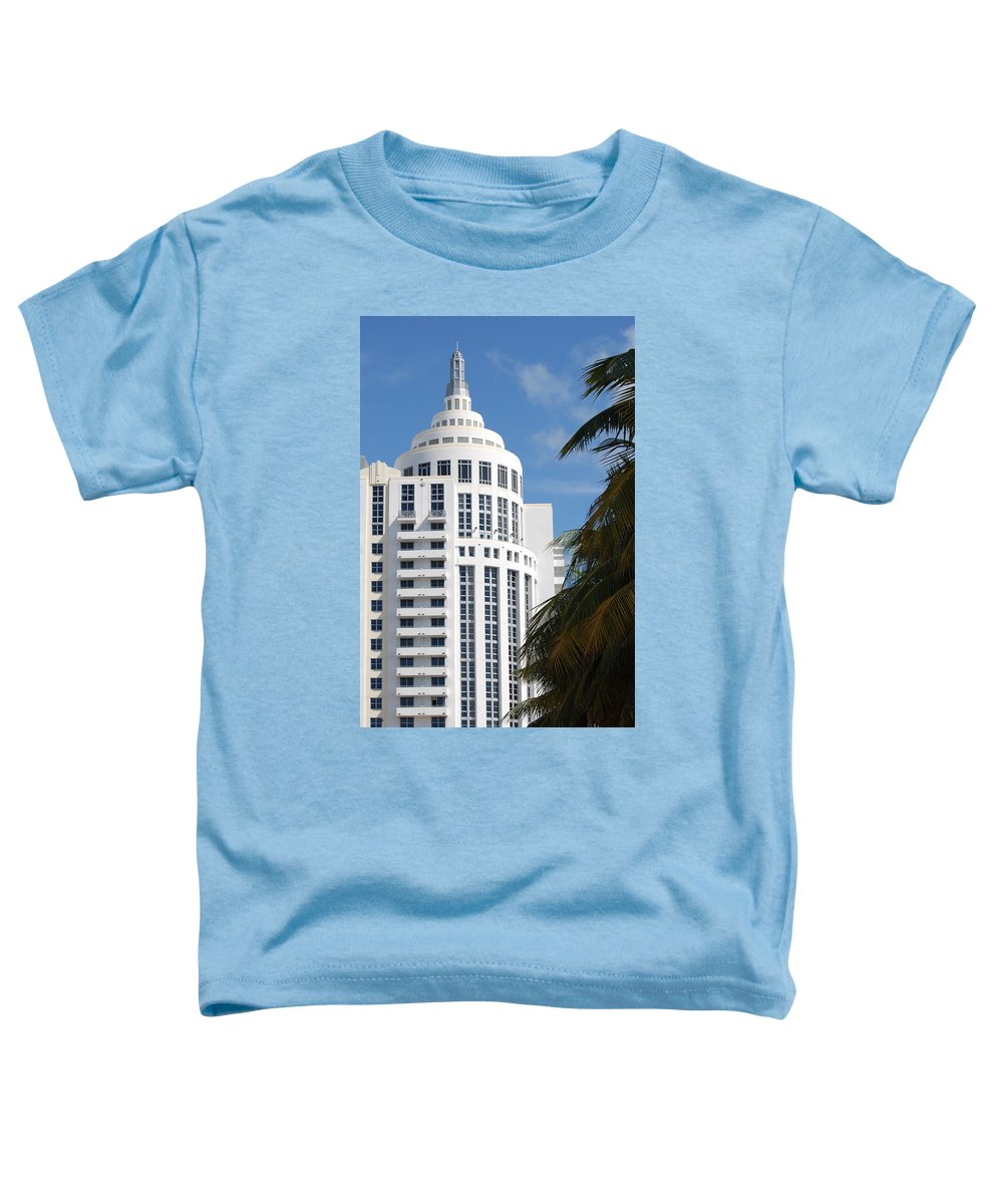 Architecture Toddler T-Shirt featuring the photograph Miami S Capitol Building by Rob Hans