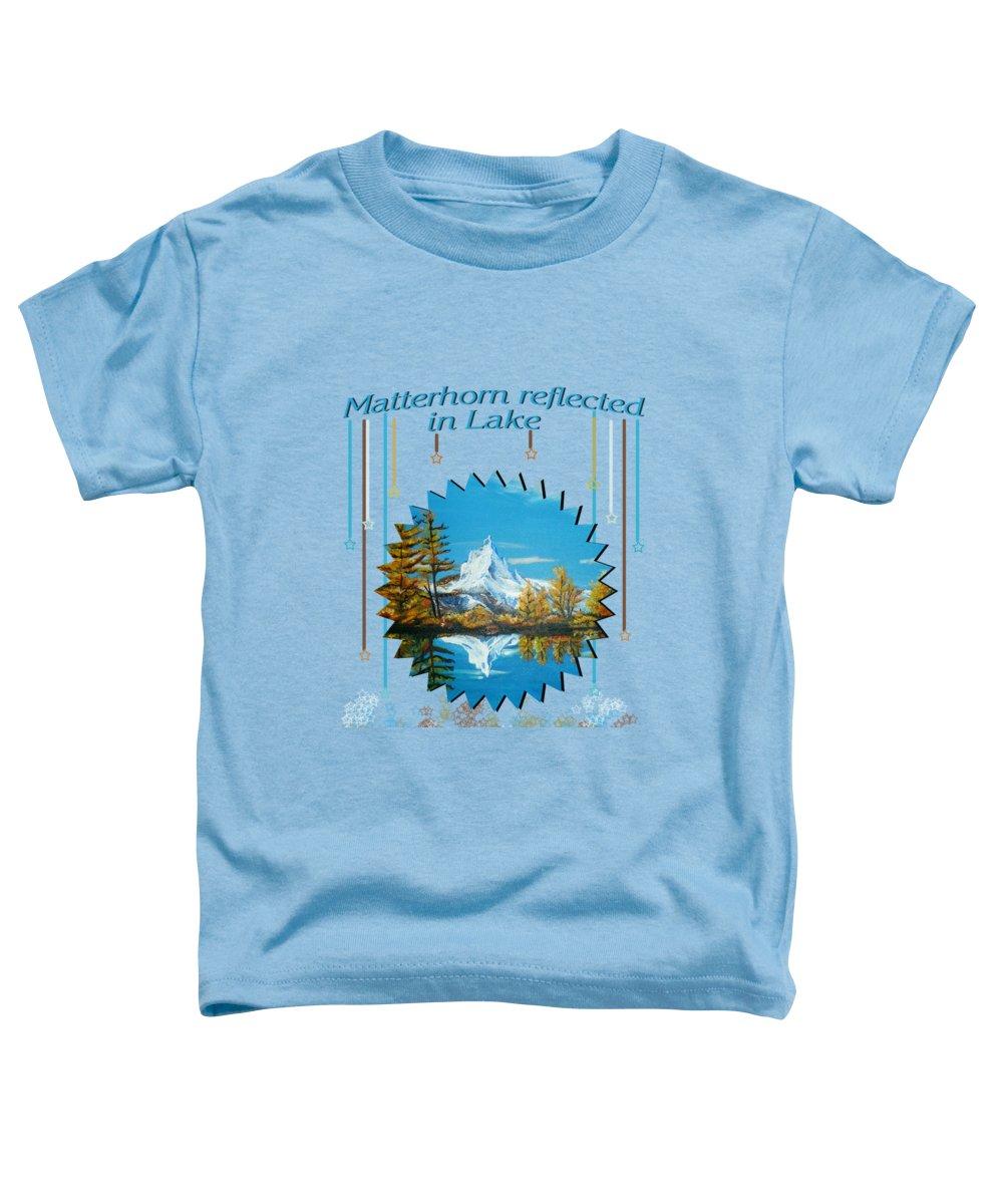 Matterhorn Toddler T-Shirts