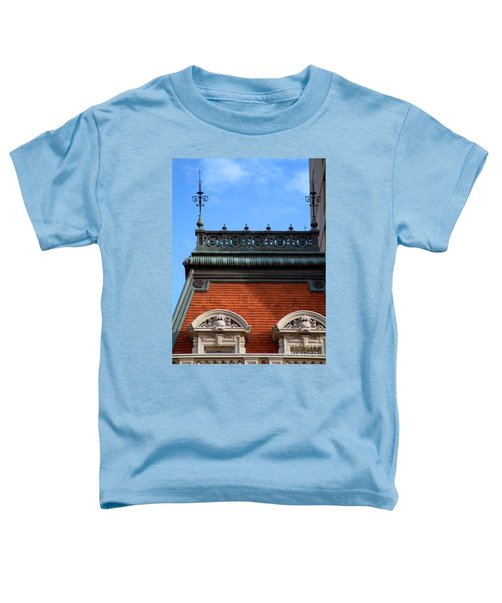 Apartment Toddler T-Shirt featuring the photograph On A Clear Day by RC DeWinter