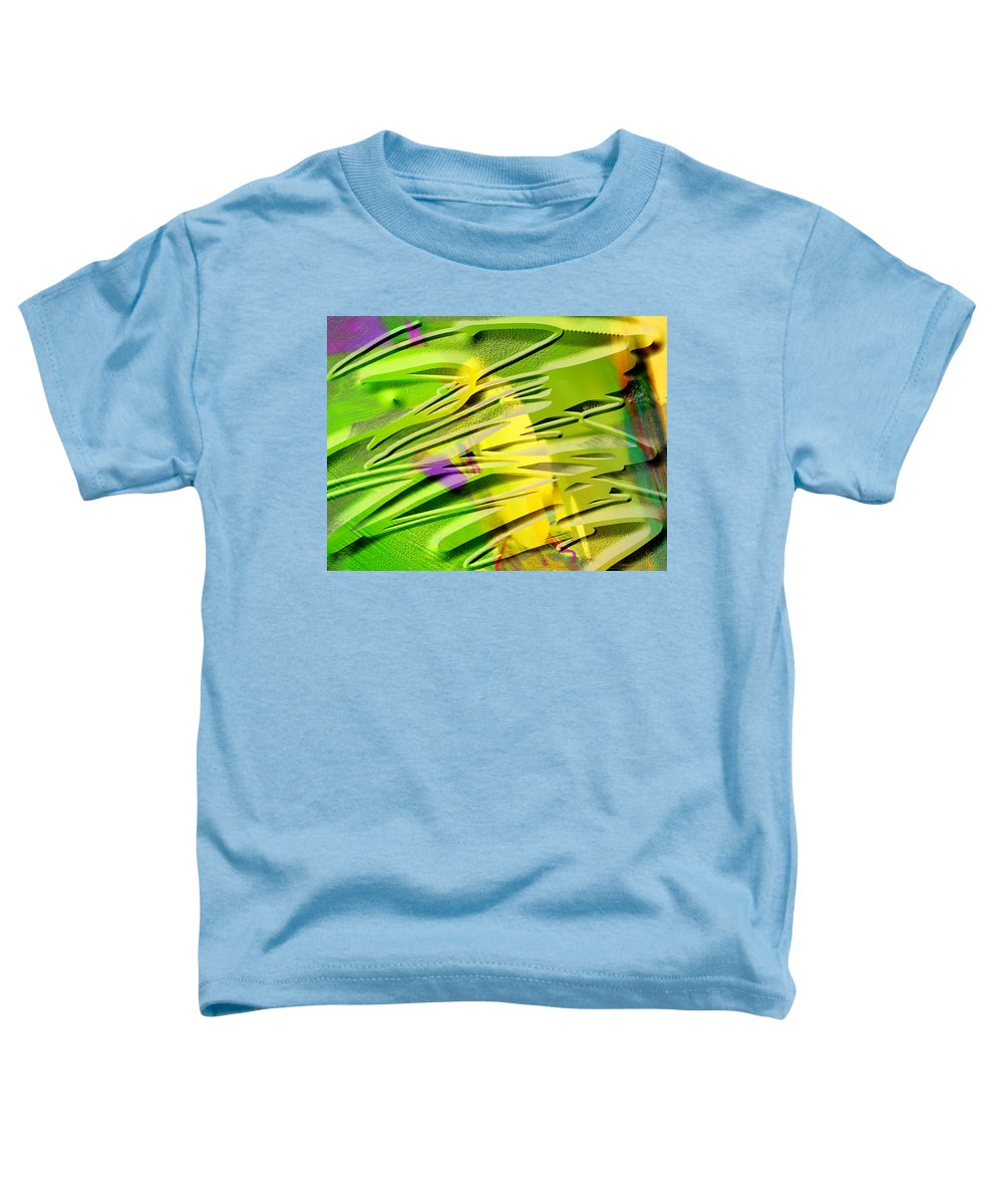 Scott Piers Toddler T-Shirt featuring the painting P39b by Scott Piers