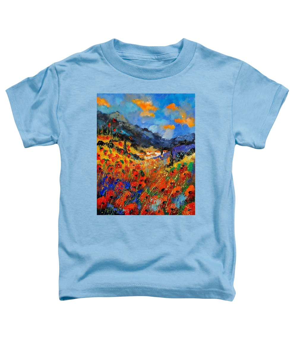 Toddler T-Shirt featuring the painting Provence 459020 by Pol Ledent