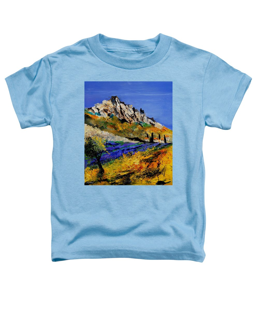 Flowers Toddler T-Shirt featuring the painting Provence 560908 by Pol Ledent