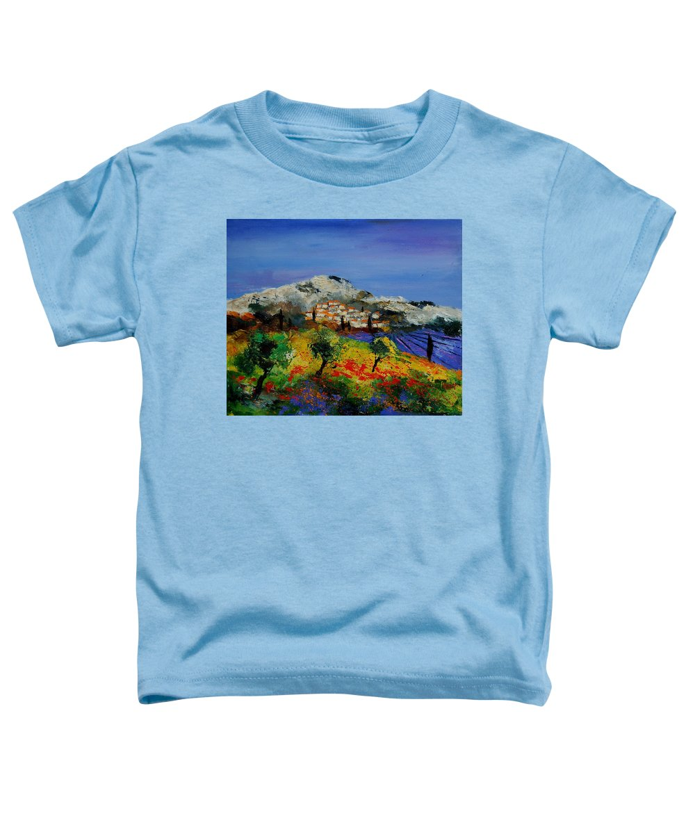Provence Toddler T-Shirt featuring the painting Provence 569010 by Pol Ledent