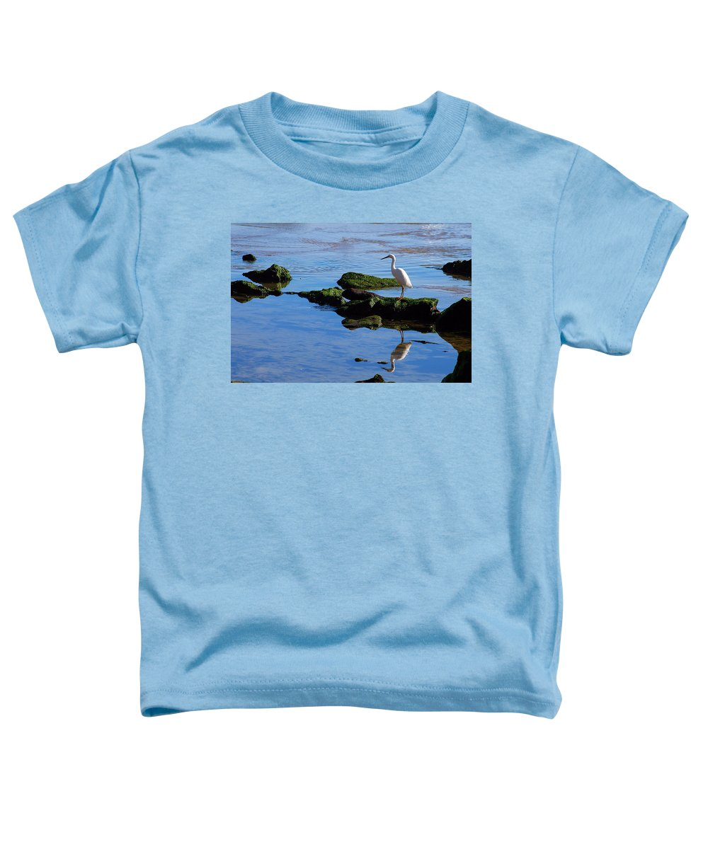 Clay Toddler T-Shirt featuring the photograph Reflecting On Dinner by Clayton Bruster