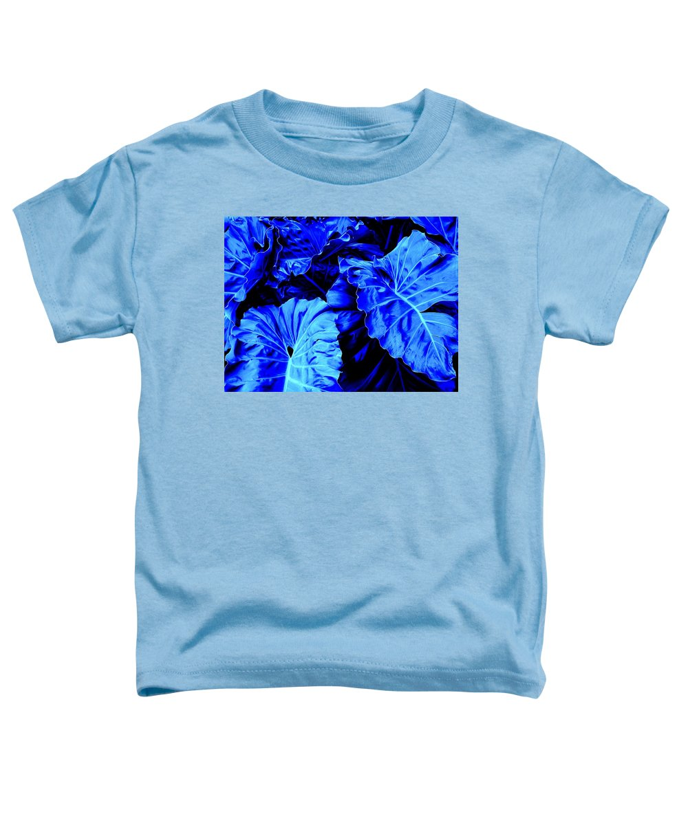 Blue Toddler T-Shirt featuring the photograph Romney Blue by Ian MacDonald