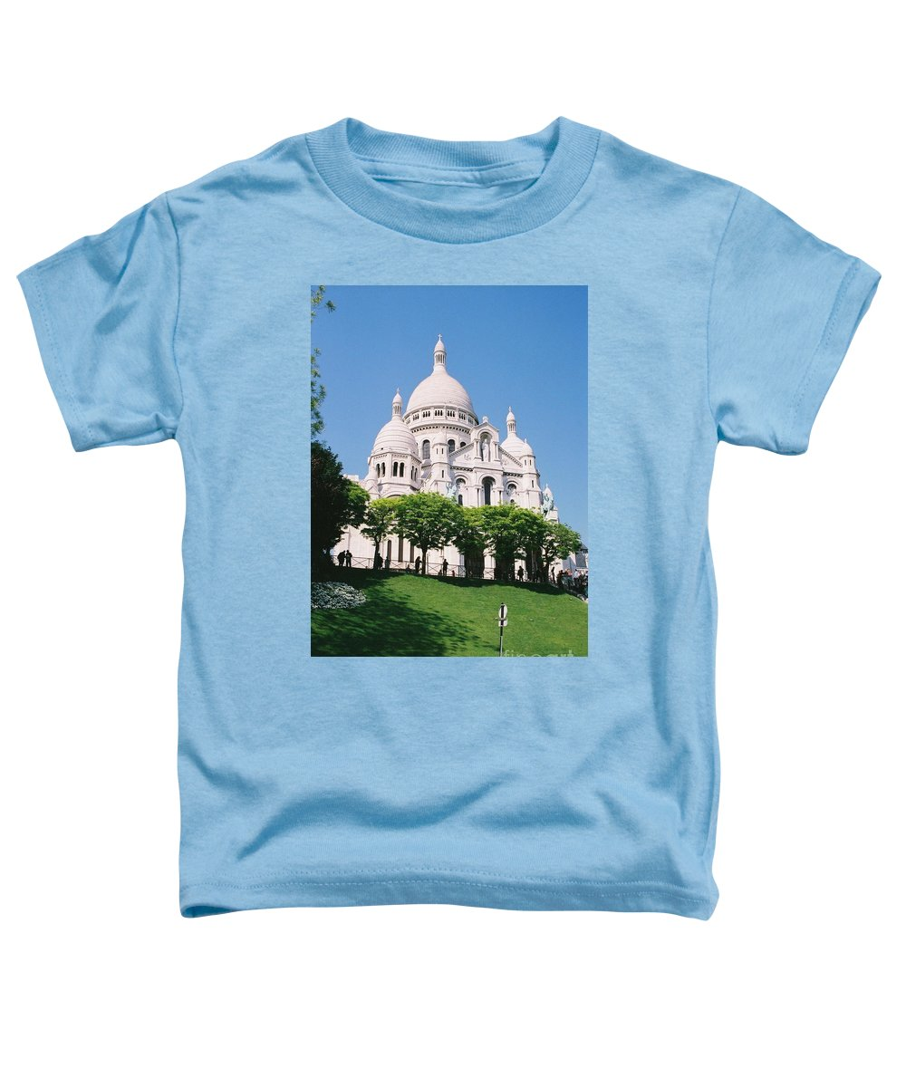 Church Toddler T-Shirt featuring the photograph Sacre Coeur by Nadine Rippelmeyer