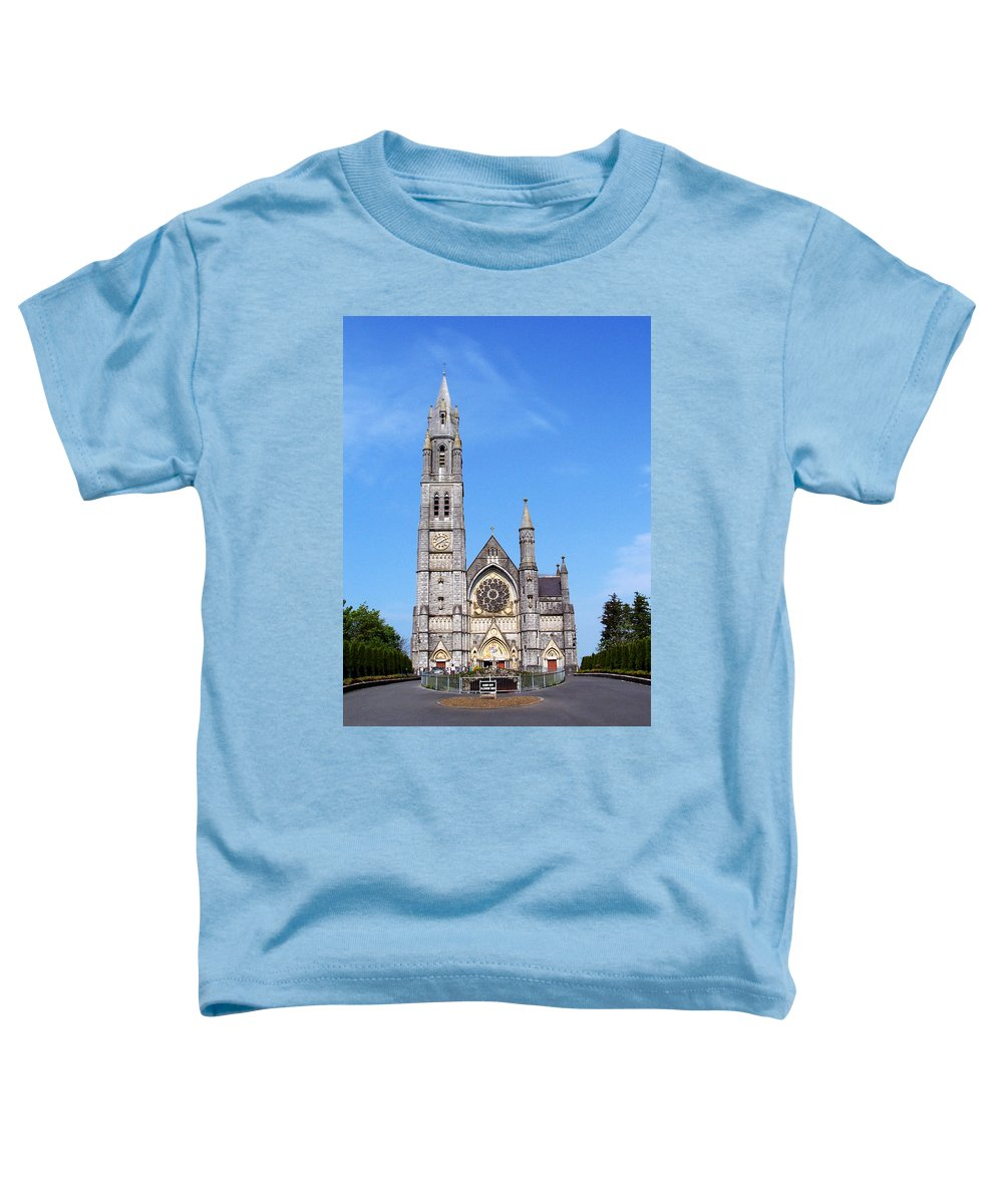 Ireland Toddler T-Shirt featuring the photograph Sacred Heart Church Roscommon Ireland by Teresa Mucha