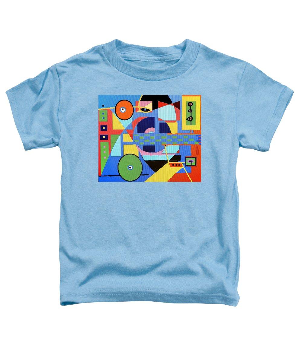 Digital Drawing Toddler T-Shirt featuring the digital art Scorpion King by Ian MacDonald