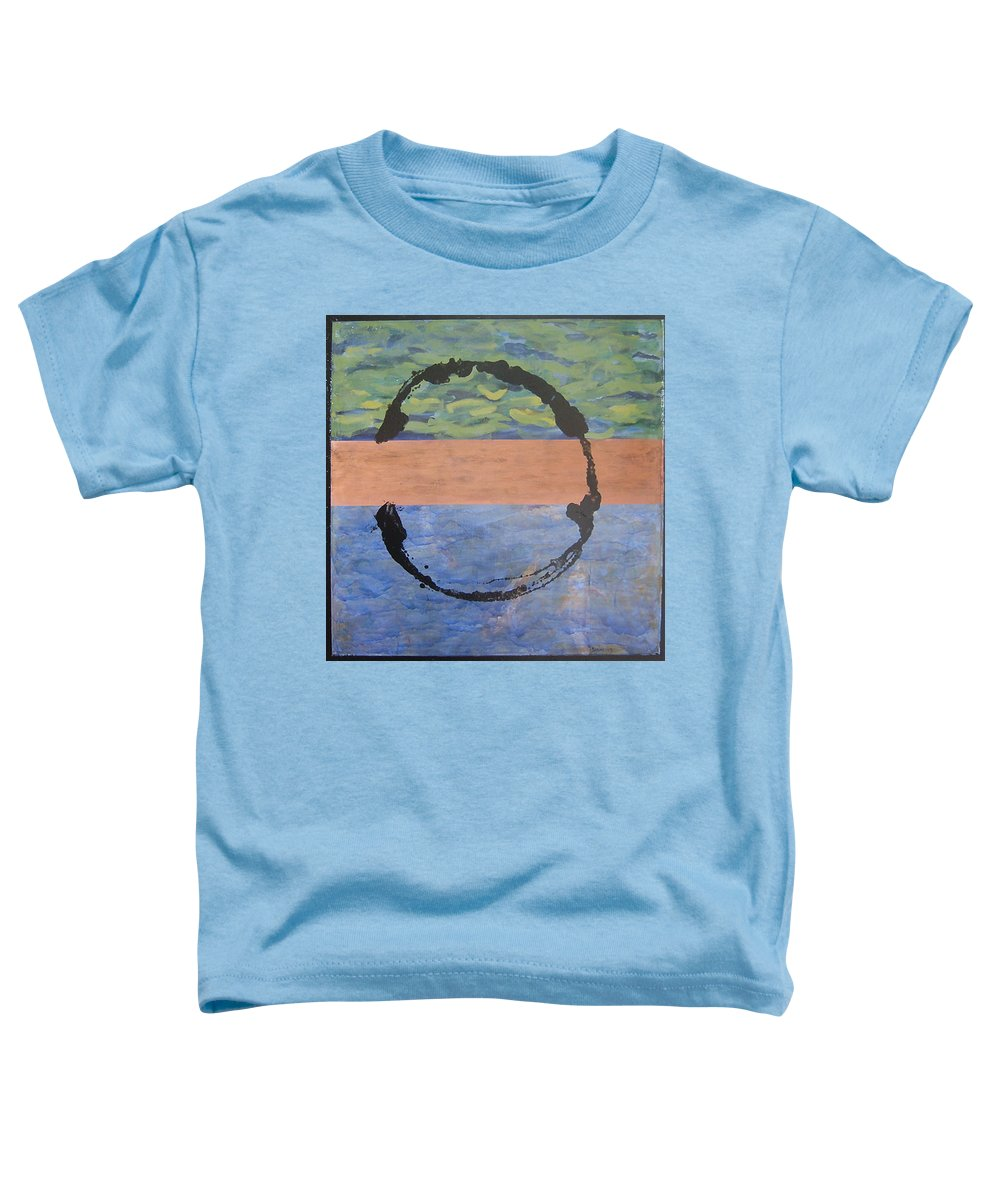 Serenity Toddler T-Shirt featuring the painting Serenity by Ellen Beauregard