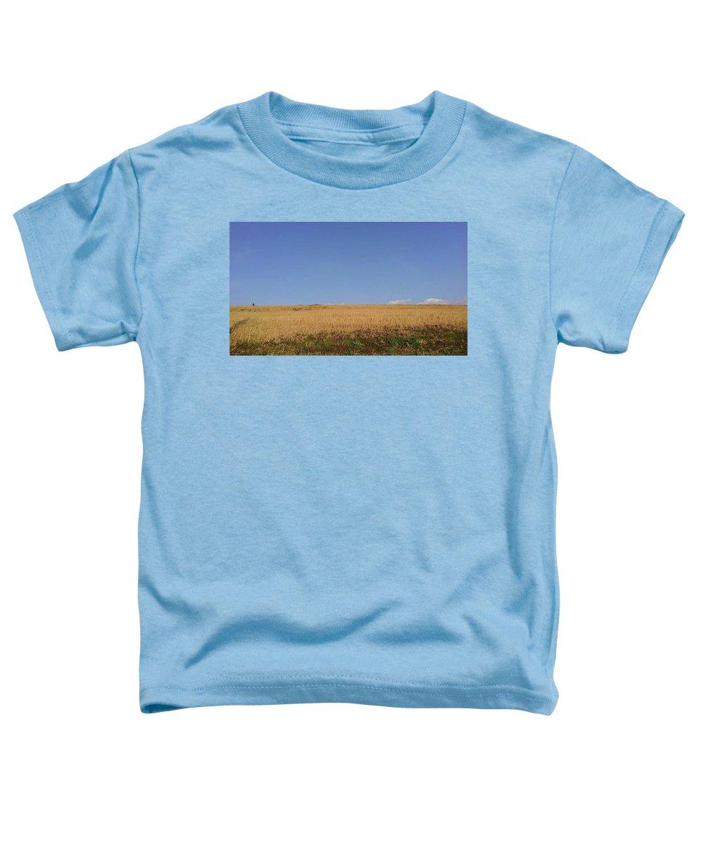 Sunnyday Toddler T-Shirt featuring the photograph Sunnyday by Kumiko Izumi