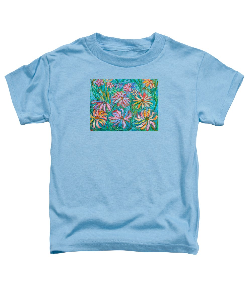 Impressionist Toddler T-Shirt featuring the painting Swirling Color by Kendall Kessler