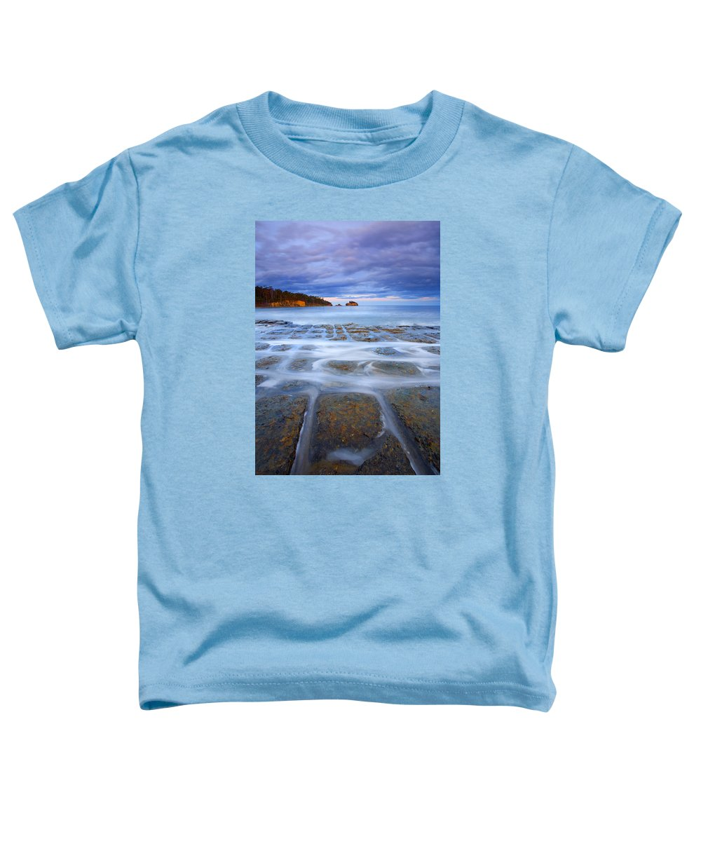 Sunset Toddler T-Shirt featuring the photograph Tesselated Sunset by Mike Dawson