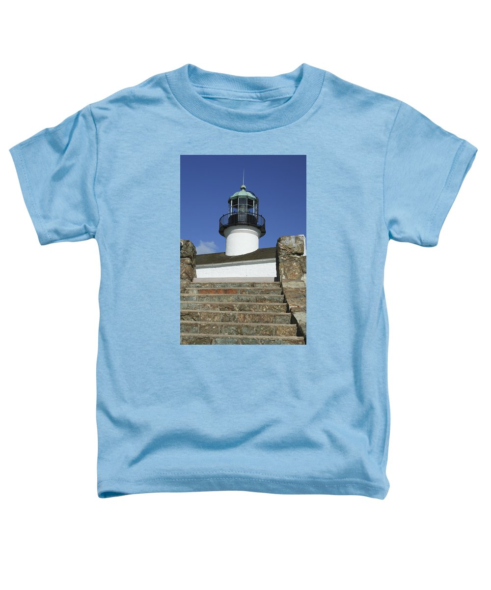Bay Toddler T-Shirt featuring the photograph Up To The Light by Margie Wildblood