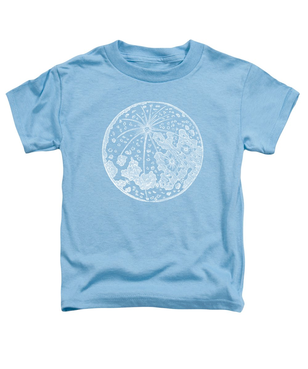 Blue Toddler T-Shirt featuring the photograph Vintage Planet Tee Blue by Edward Fielding