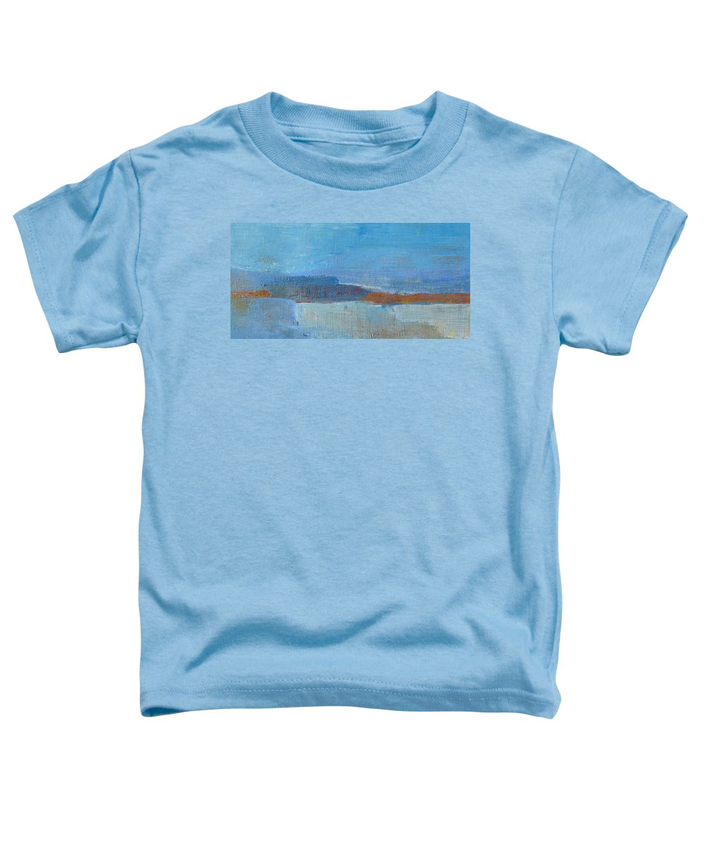 Abstract Toddler T-Shirt featuring the painting Vision by Habib Ayat