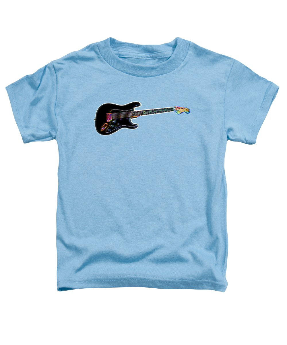 Guitar Toddler T-Shirt featuring the photograph Electric Guitar by Judy Vincent