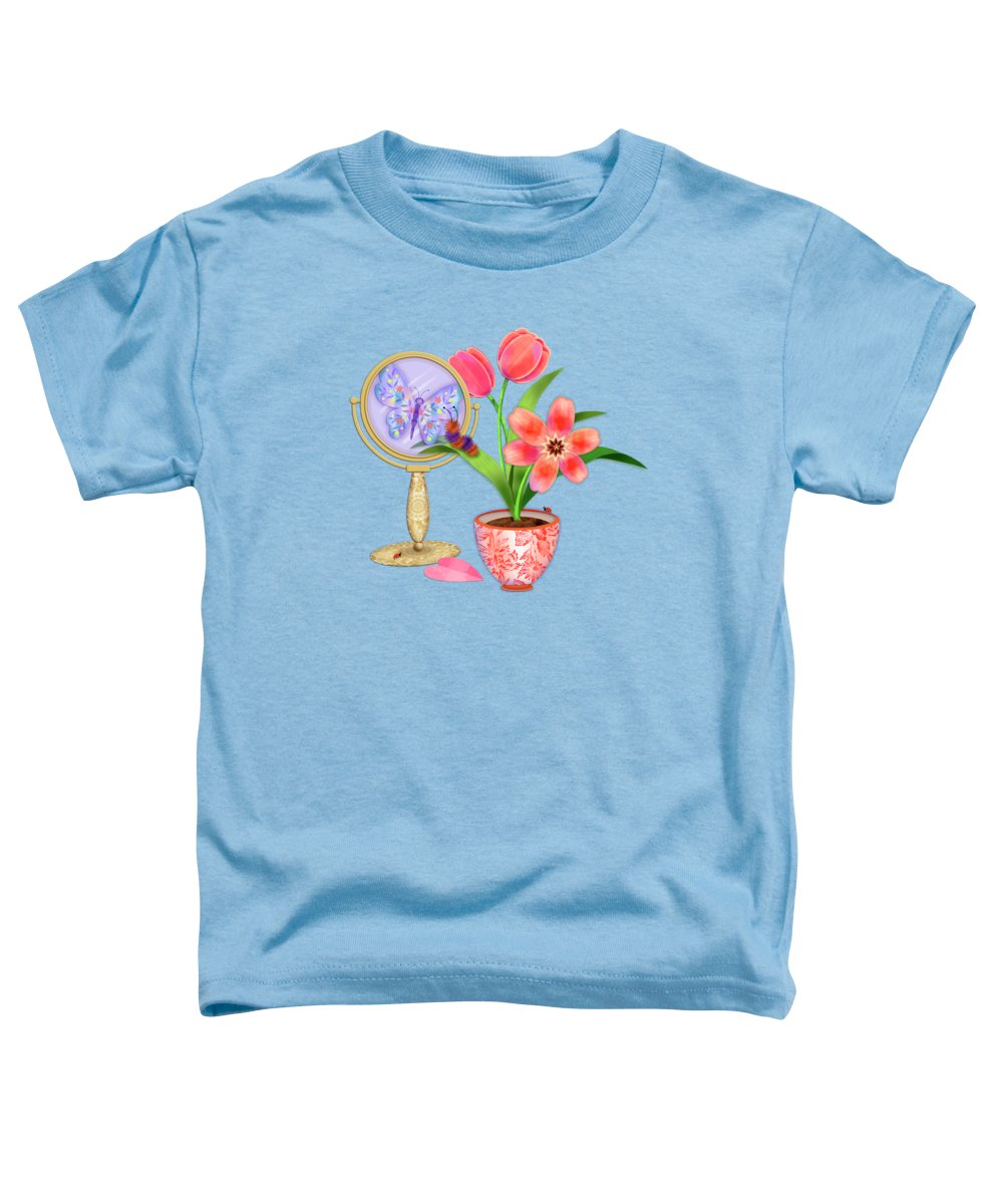 Country Mixed Media Toddler T-Shirts