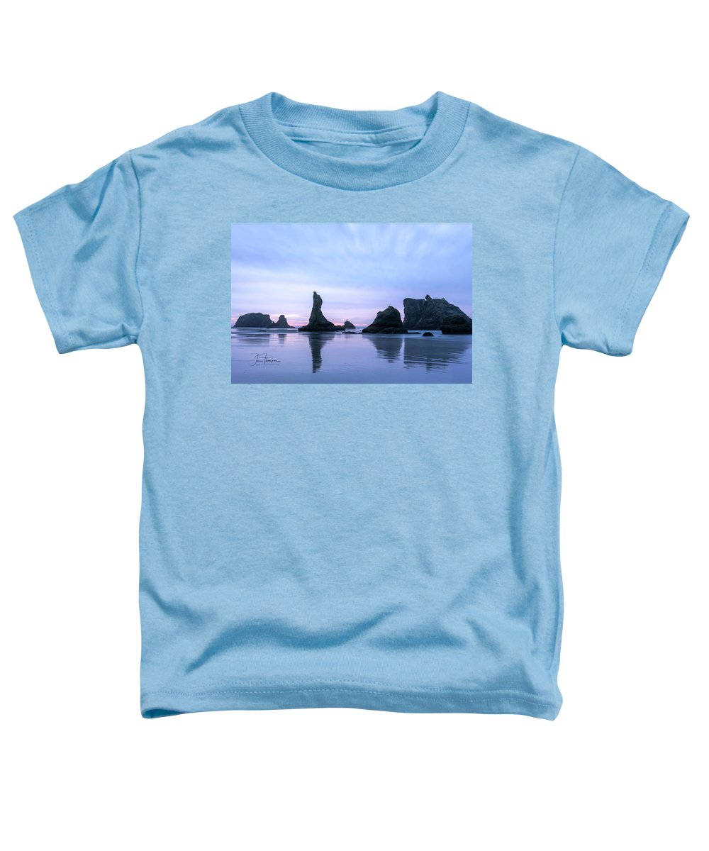 Bandon Beach Toddler T-Shirt featuring the photograph The Witches Hat by Jim Thompson