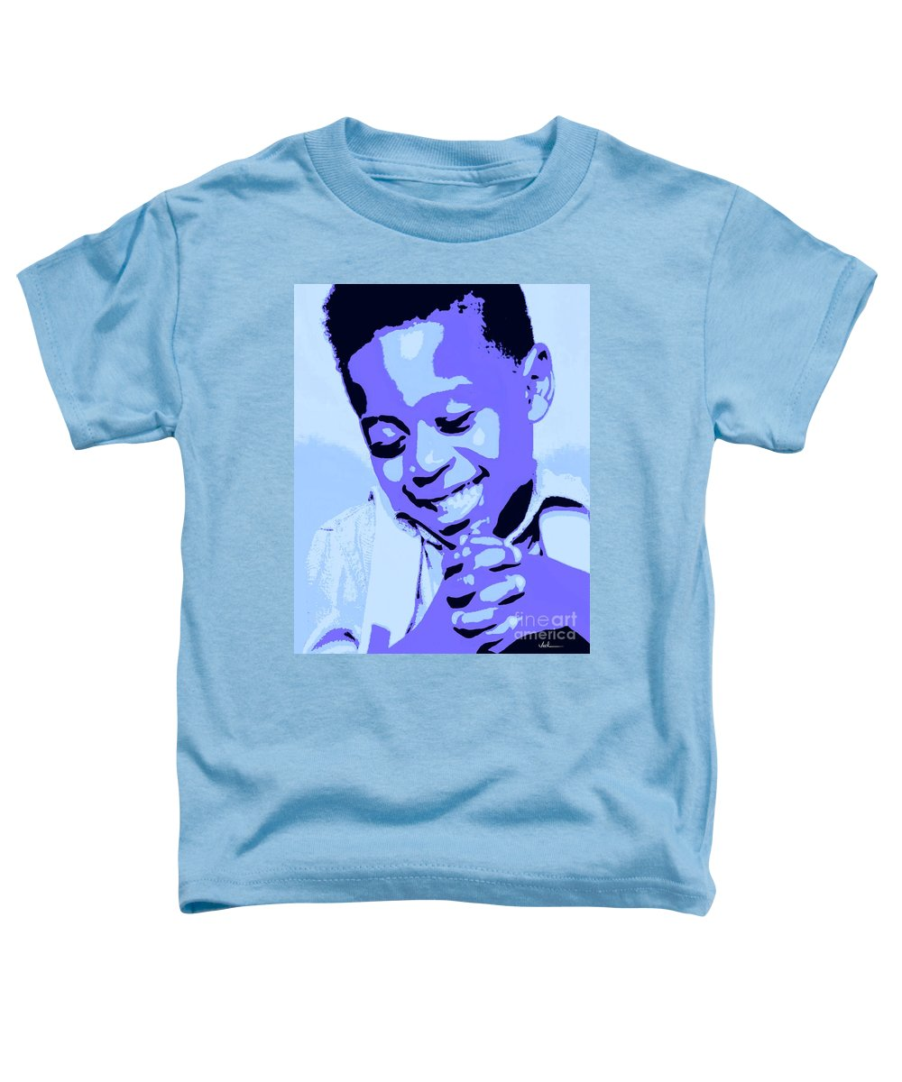 Pray Toddler T-Shirt featuring the painting Precious Prayers by Jack Bunds