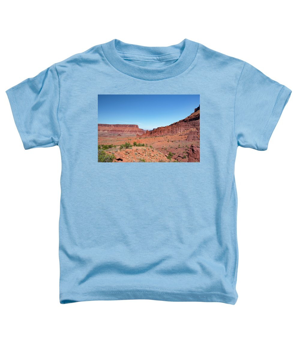 Fisher Towers Toddler T-Shirt featuring the photograph Wild Utah Landscape by Jim Thompson