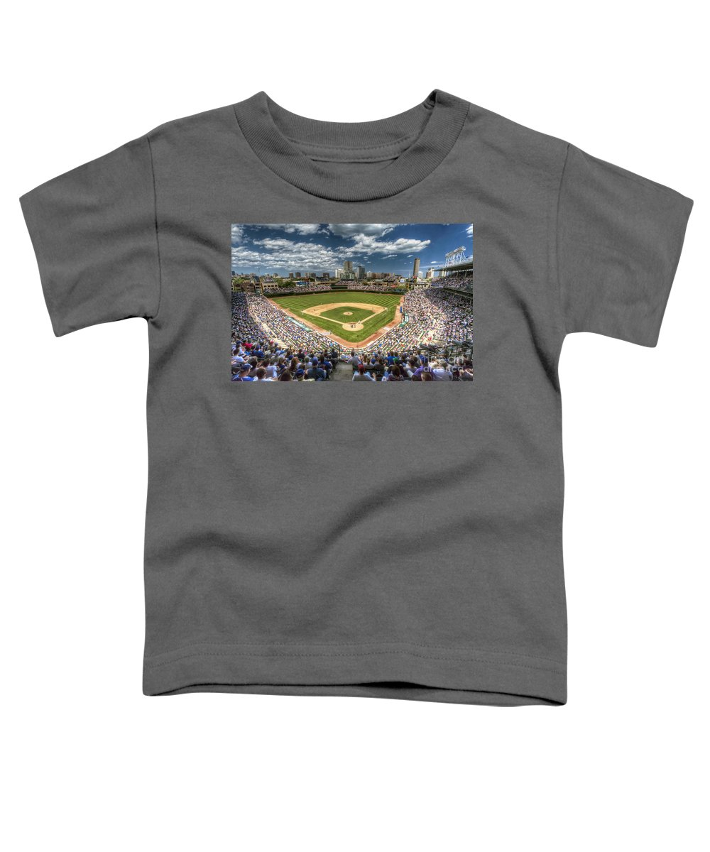 Wrigley Field Toddler T-Shirts