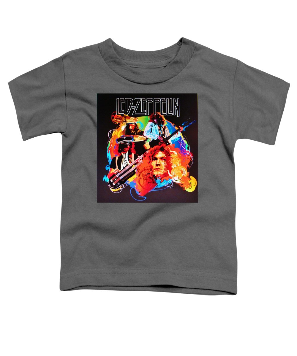 Jimmy Page Toddler T-Shirts