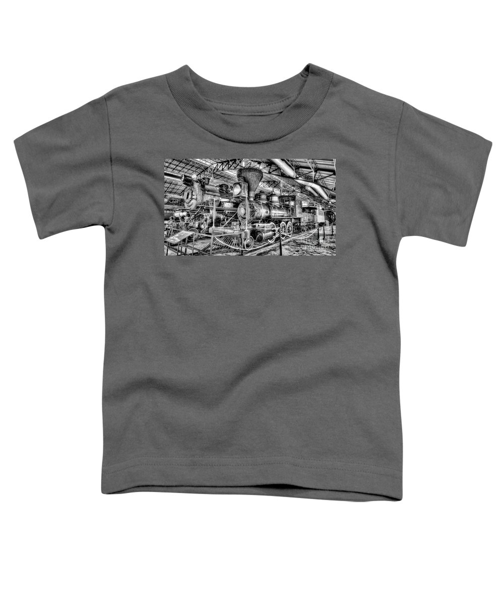 Railroad Toddler T-Shirt featuring the photograph The Tahoe by Paul W Faust - Impressions of Light