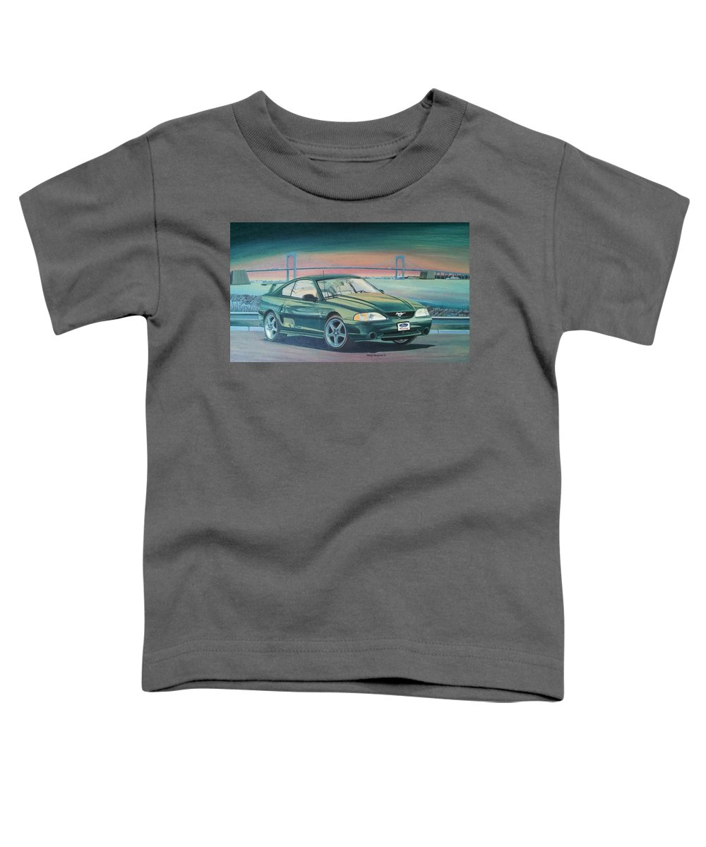 Gt-r Paintings Toddler T-Shirts
