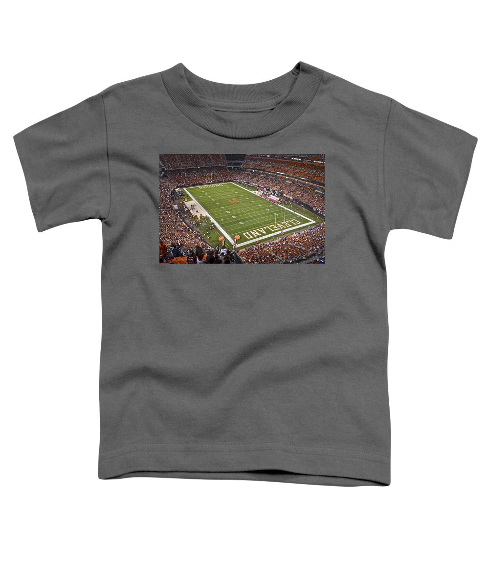 info for 04c1c 65486 Cleveland Browns Stadium Toddler T-Shirt