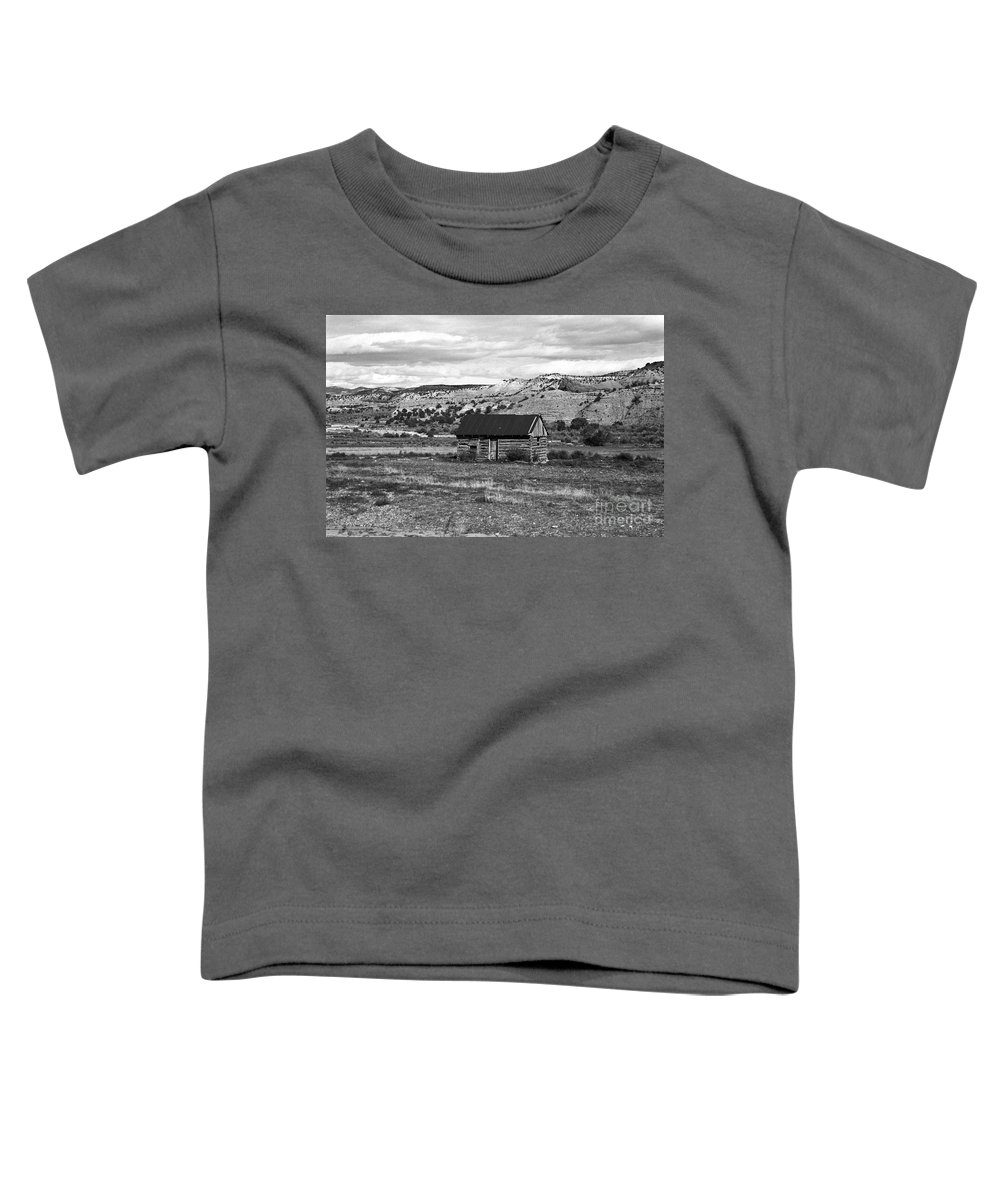 Utah Toddler T-Shirt featuring the photograph Courage by Kathy McClure