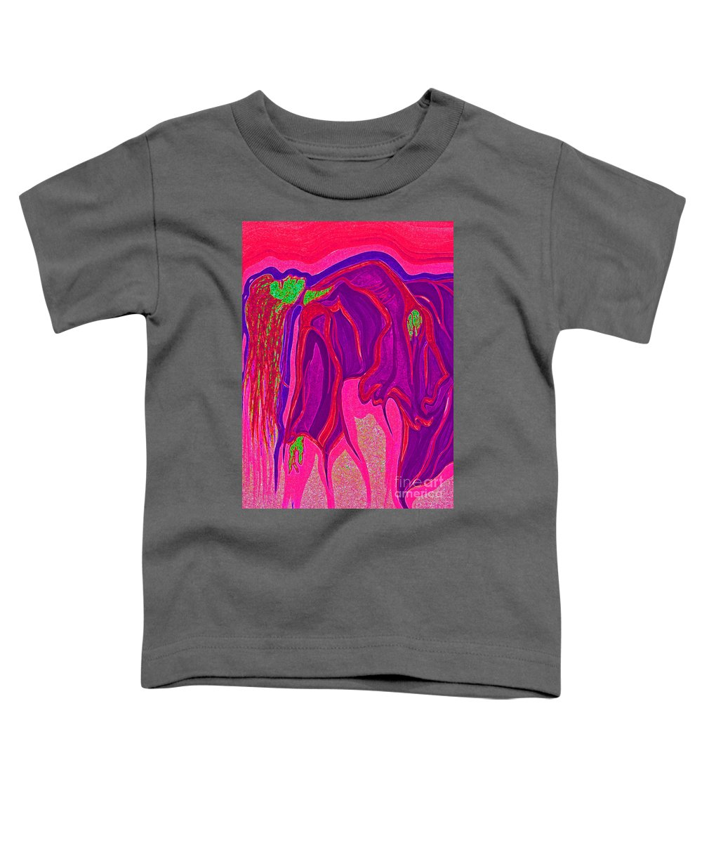 First Star Art Toddler T-Shirt featuring the drawing Dream In Color 3 by First Star Art
