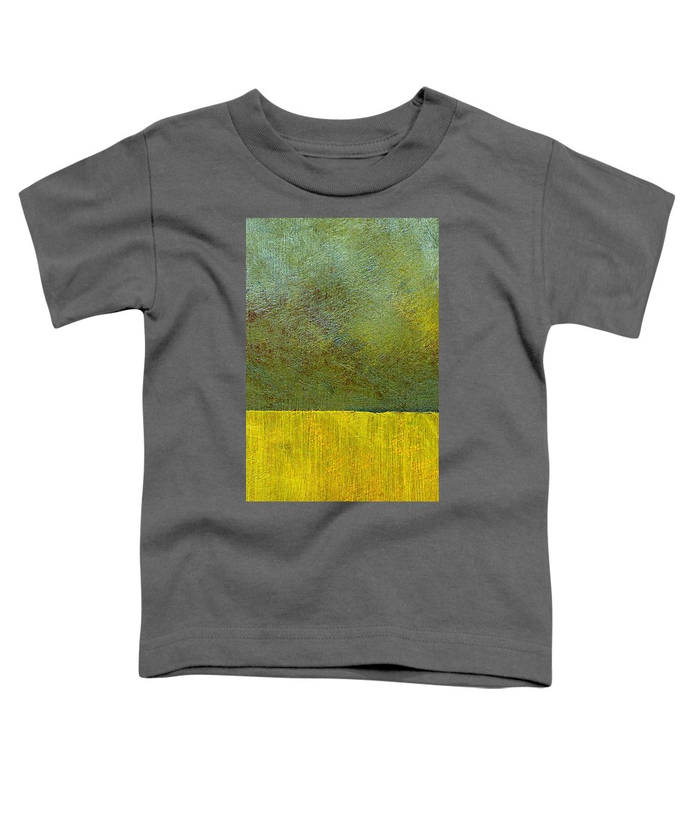 Abstract Landscape Toddler T-Shirt featuring the painting Earth Study Two by Michelle Calkins