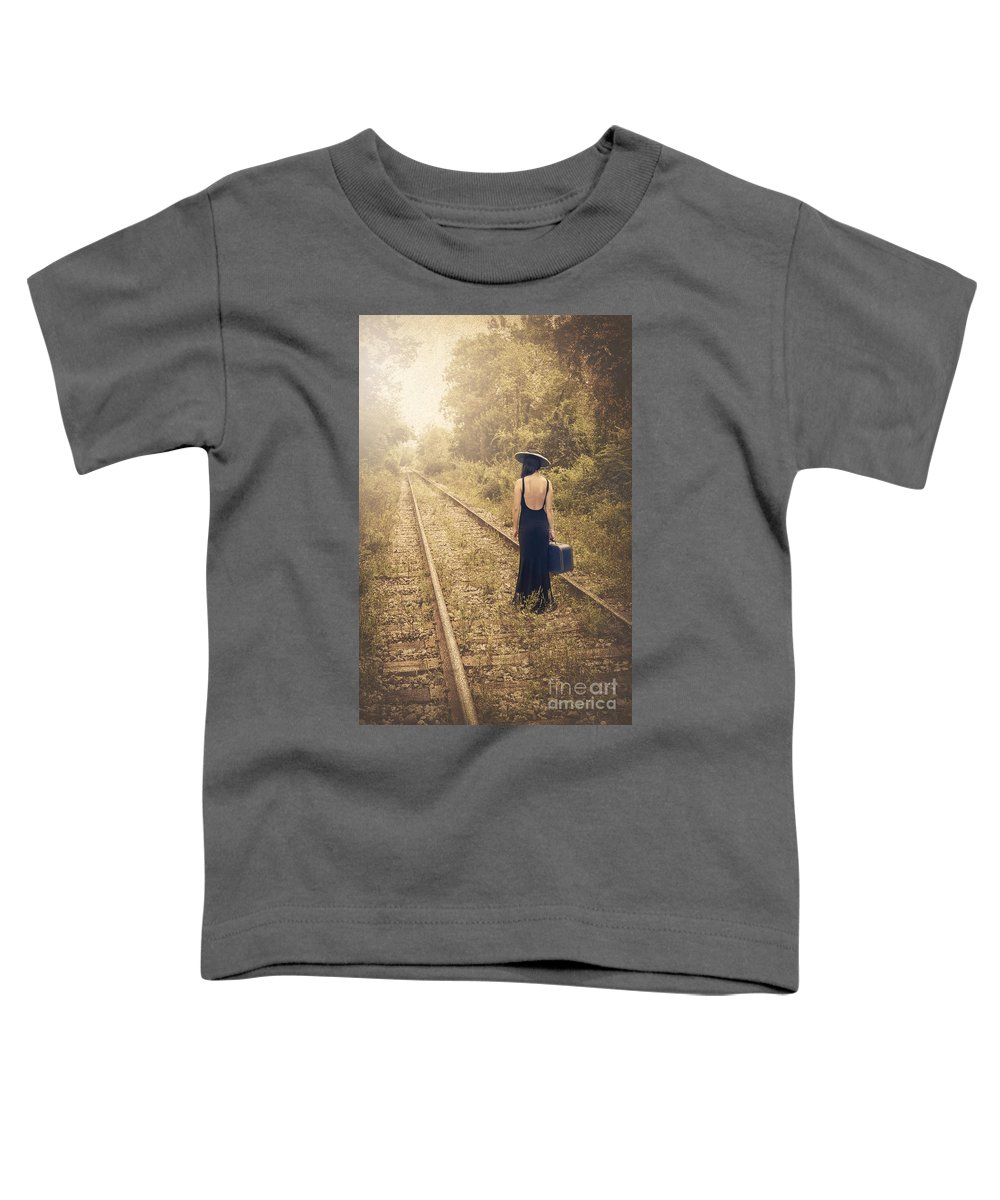 Kremsdorf Toddler T-Shirt featuring the photograph Engaged With Destiny by Evelina Kremsdorf