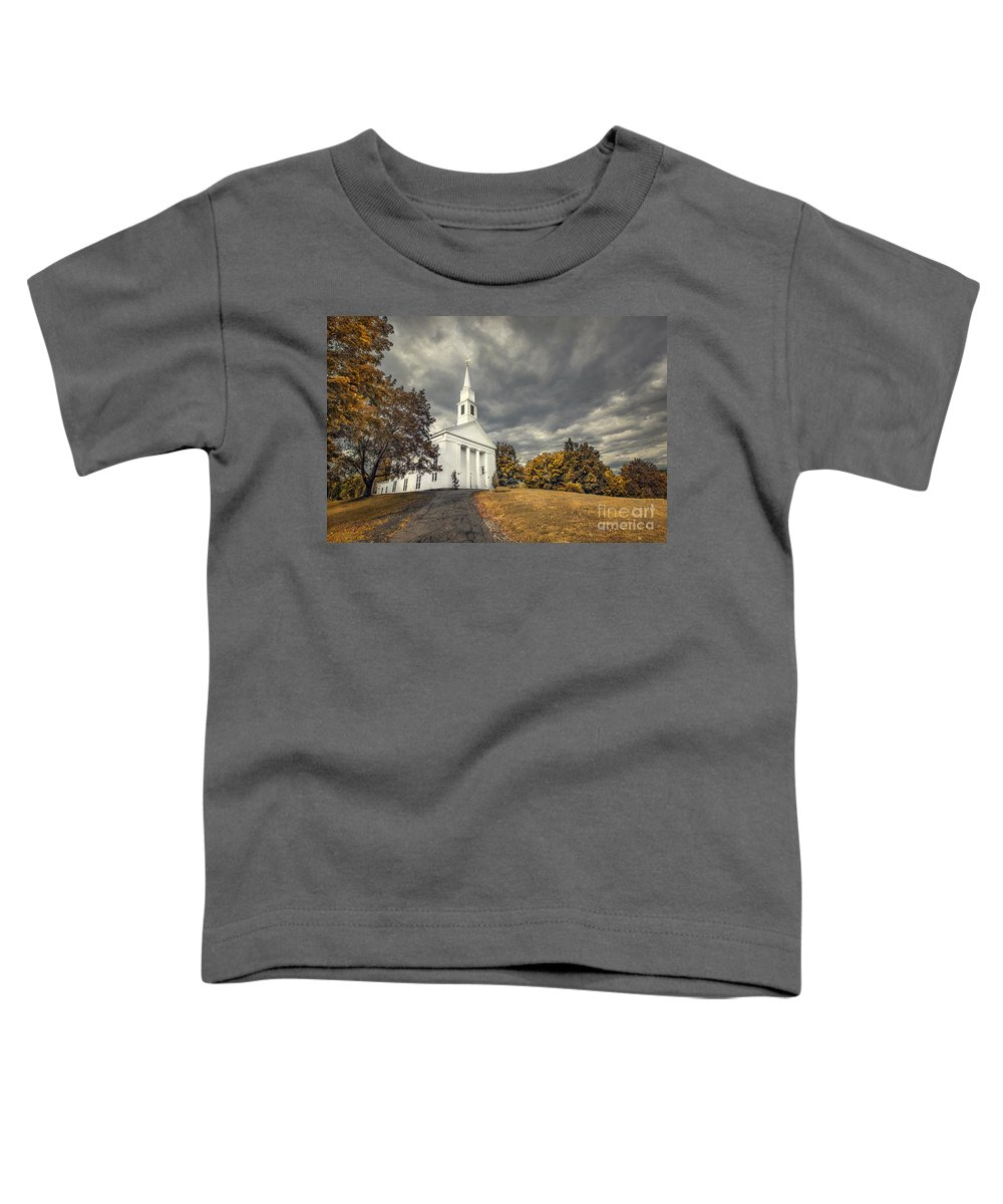Kremsdorf Toddler T-Shirt featuring the photograph Faith Embrace by Evelina Kremsdorf