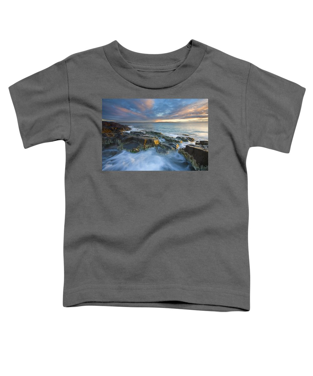 Freycinet Toddler T-Shirt featuring the photograph Freycinet Cloud Explosion by Mike Dawson
