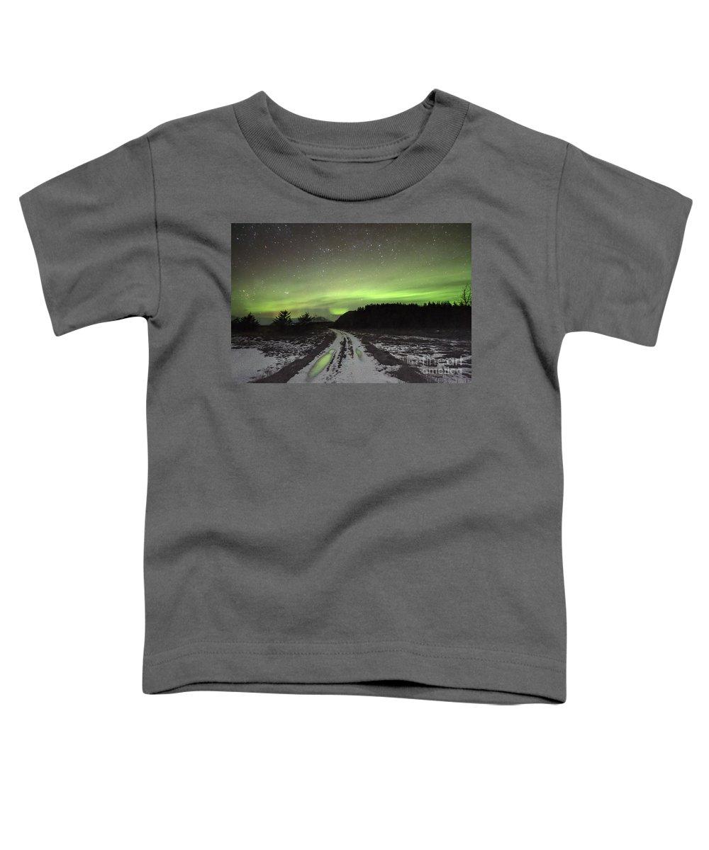 Kremsdorf Toddler T-Shirt featuring the photograph Galactic Dream by Evelina Kremsdorf