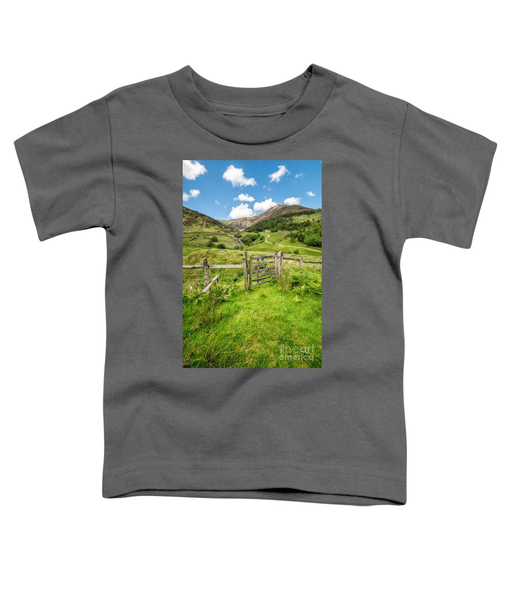 Nant Gwynant Toddler T-Shirt featuring the photograph Gate To Paradise by Adrian Evans